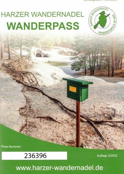 Wanderpass (DIN A6)