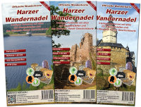 Offizielle Wanderkarte Harzer Wandernadel (3-Karten-Set...