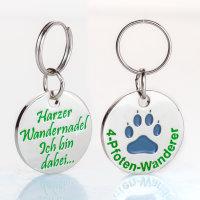 Vier-Pfoten-Plakette für Hunde