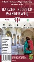 Karte Harzer Kloster Wanderweg